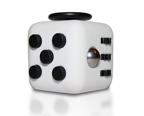 Fidget cube black and white
