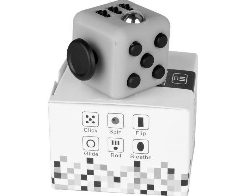 Fidget cube with packaging