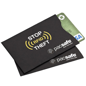 RFID blocking sleeve black