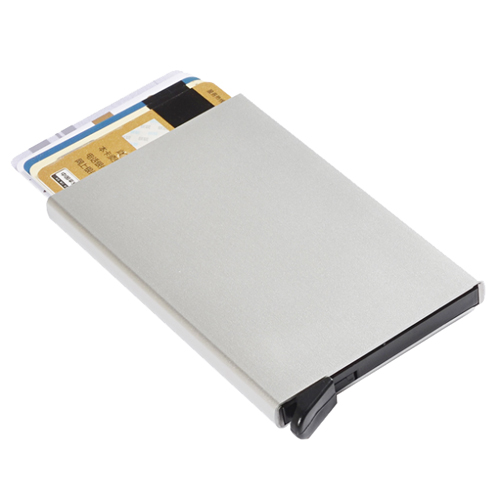 Card Holders silver aluminium