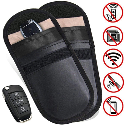 RFID blocking pouch for car keys