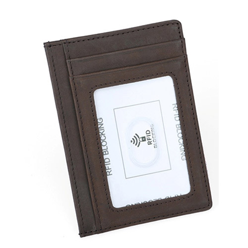 Dark-brown-wallet RFID